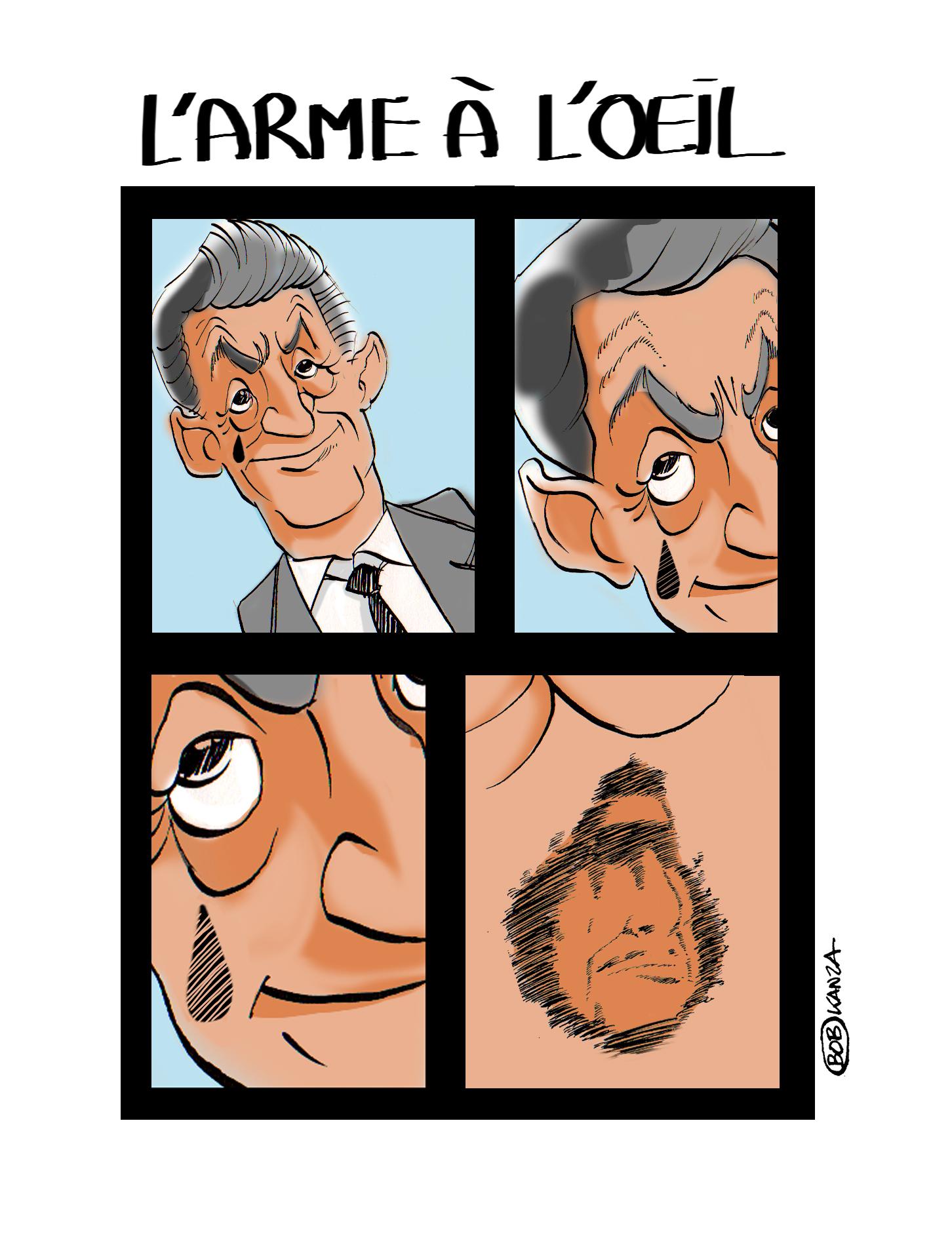 Sarkozy-Kadhafi, les affaires lybiennes © Bob Kanza