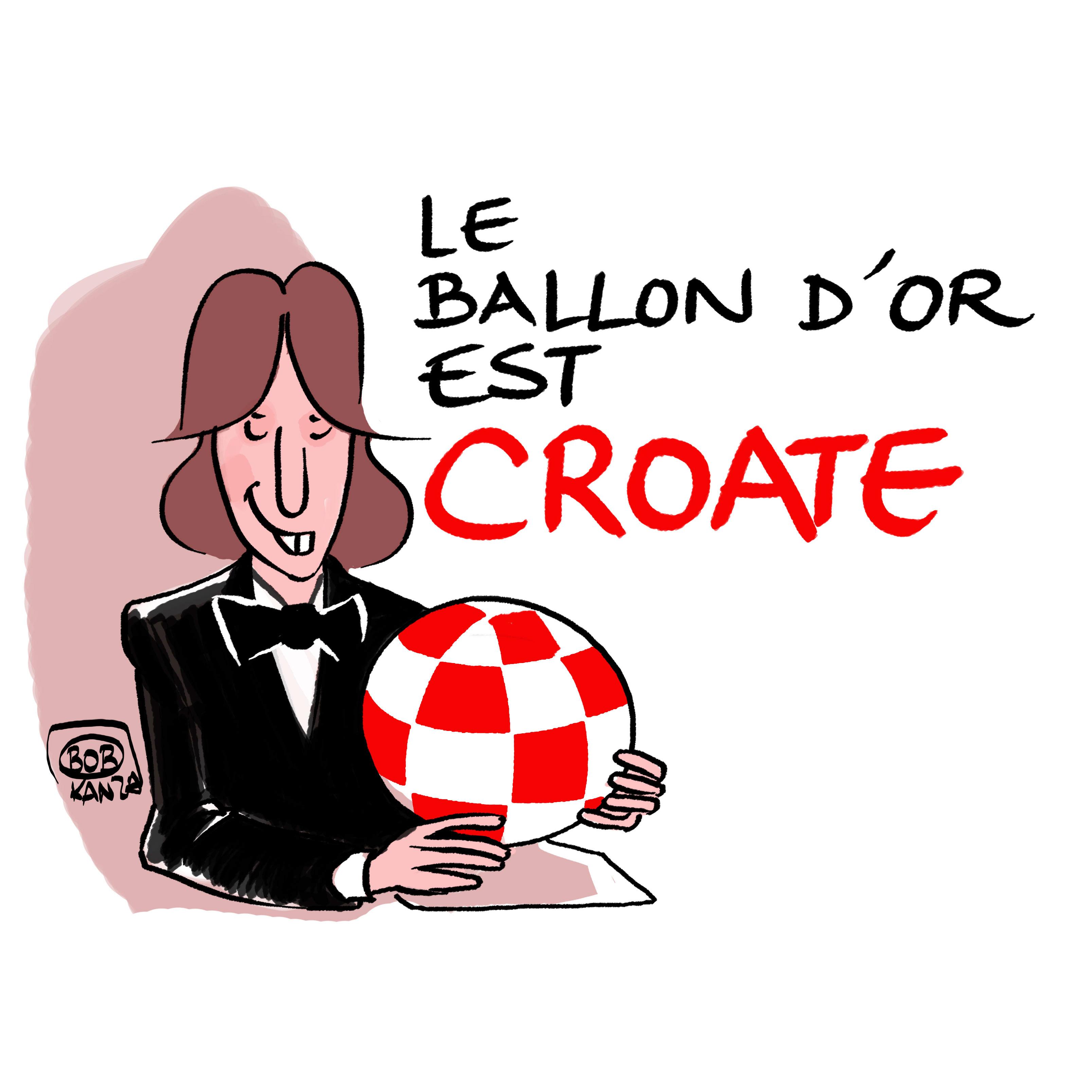 modric Ballon d'or 2018
