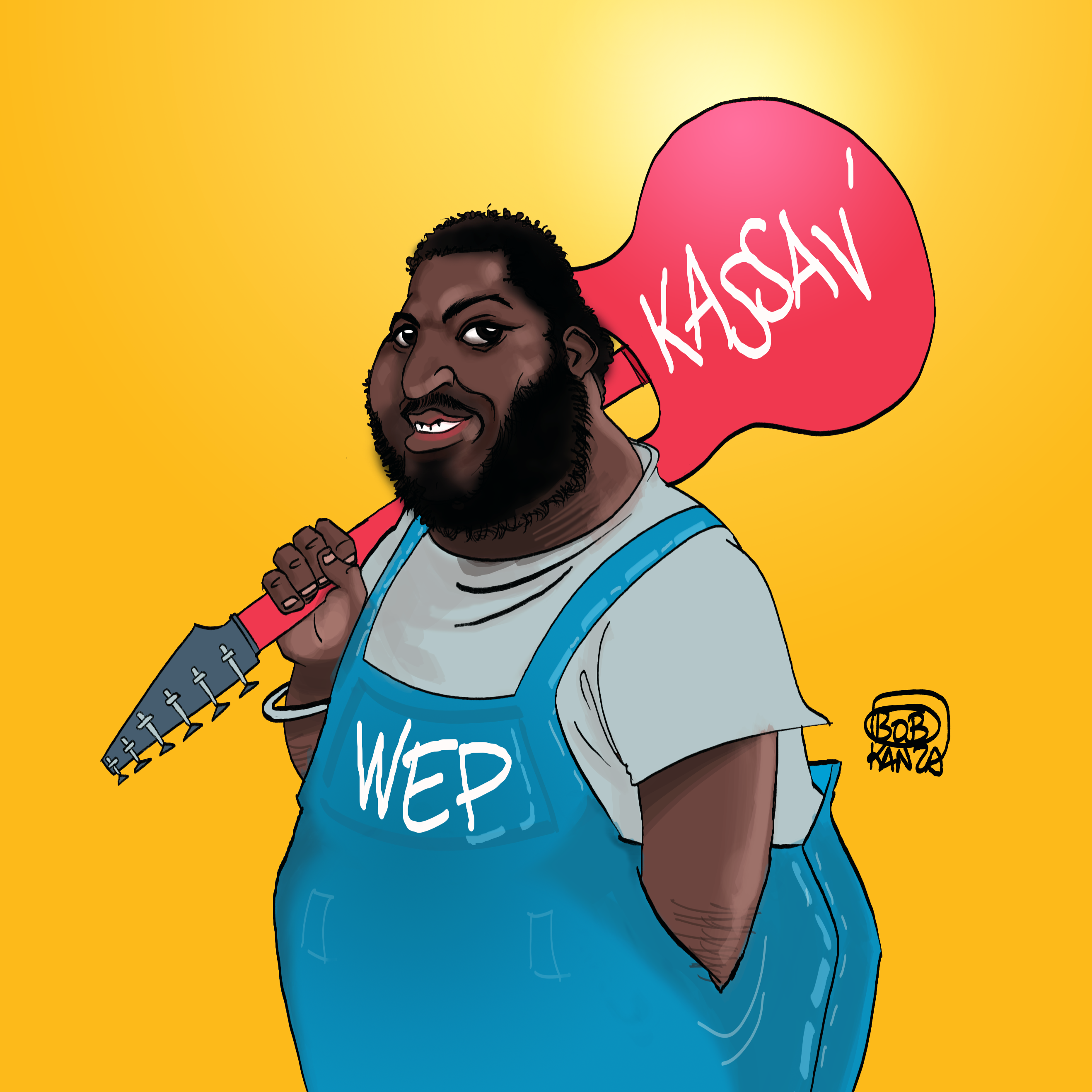 jacob desvarieux kassav caricature bob kanza