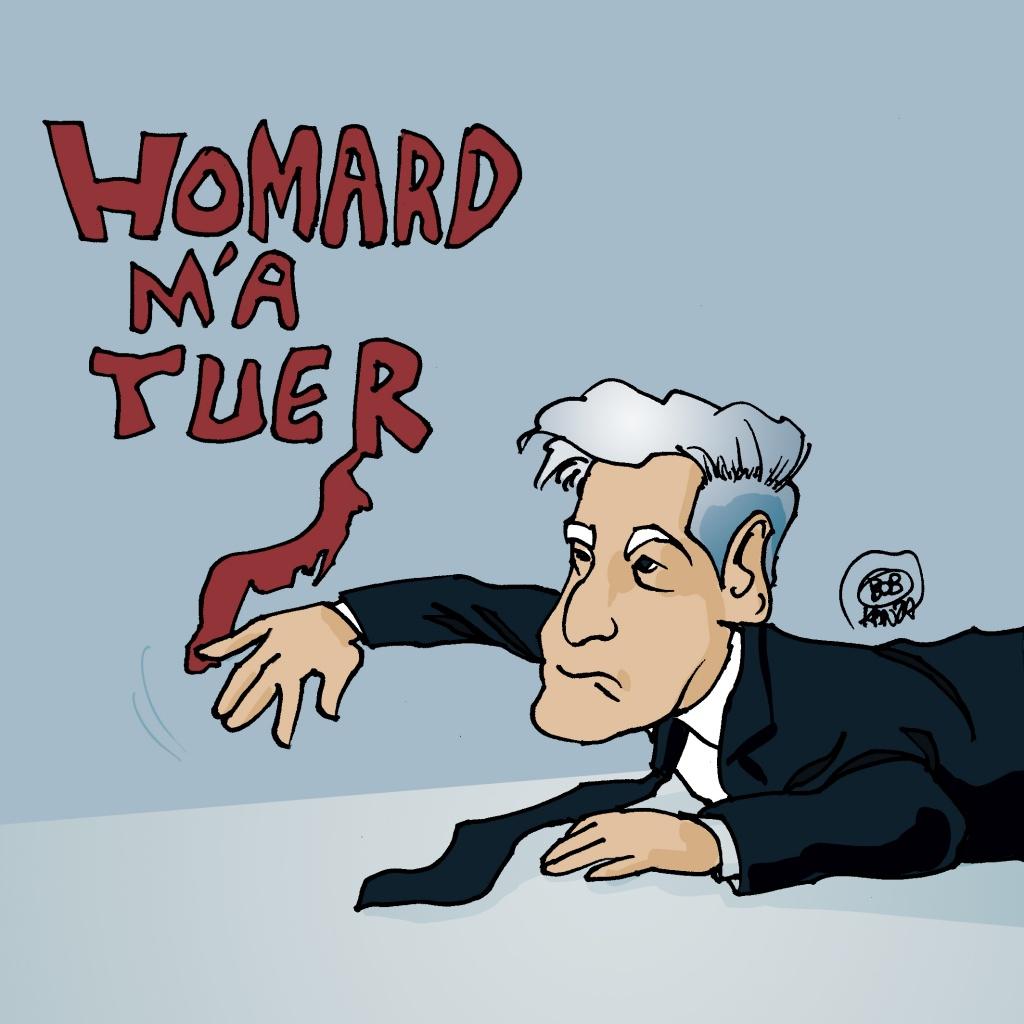 De rugy aime le Homard - dessin de presse - Bob Kanza
