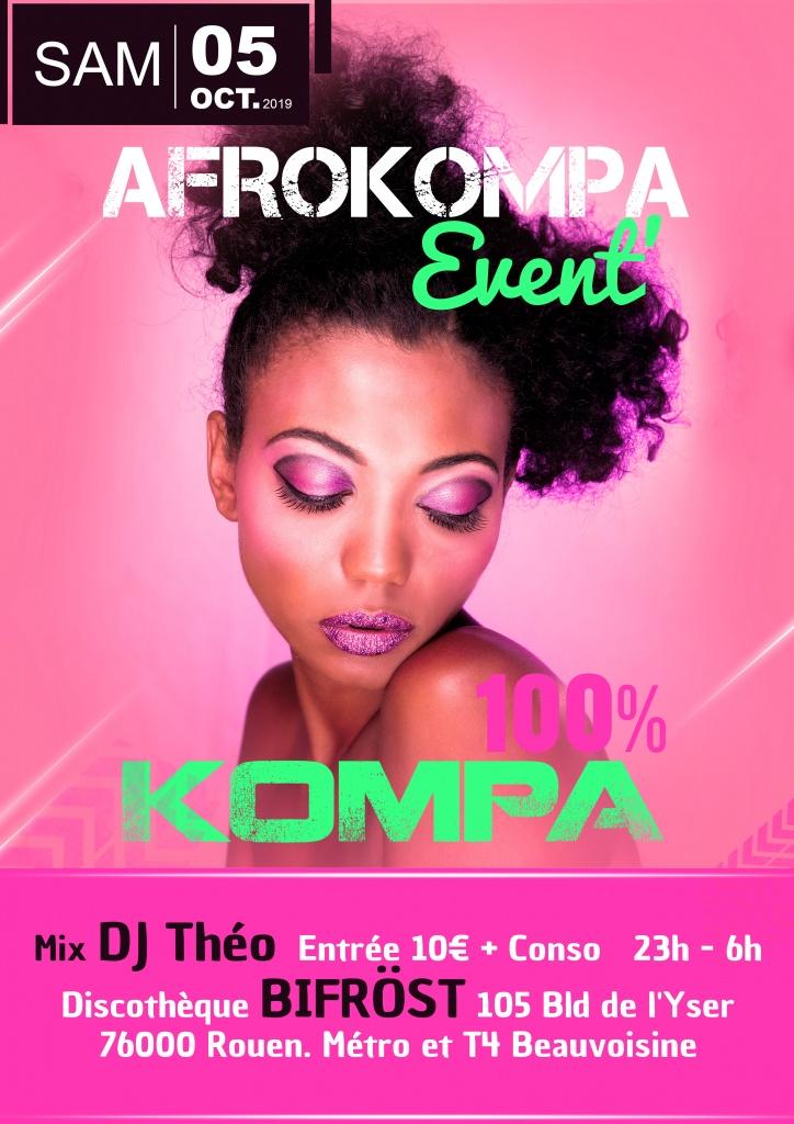 Soiree Antillaise Rouen AfroKompa Event Bob Kanza
