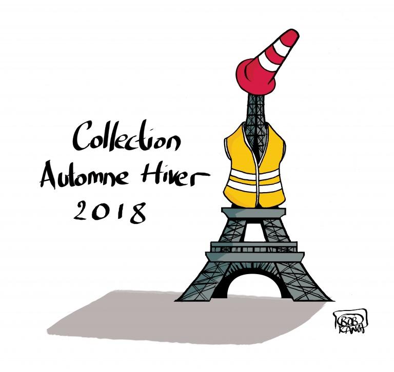 Collection Automne-Hiver 2018 ©Bob Kanza
