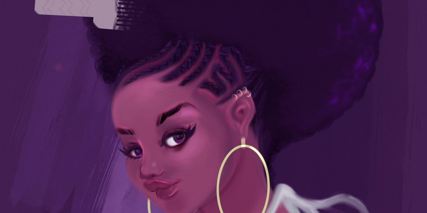 Babette Motuka princesse afropolitaine - creoles- bd - africaine © bob kanza