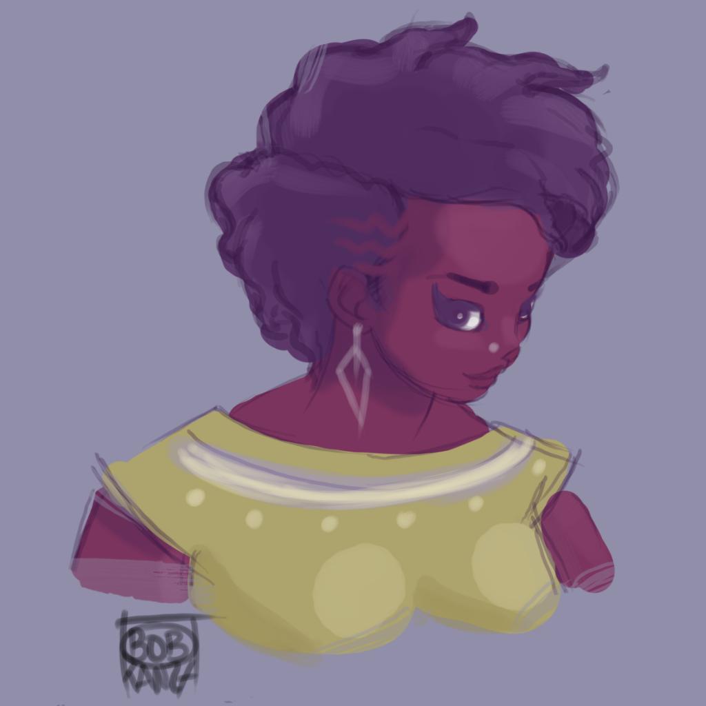 Babette Motuka, Princesse AfroPolitaine - Bob Kanza