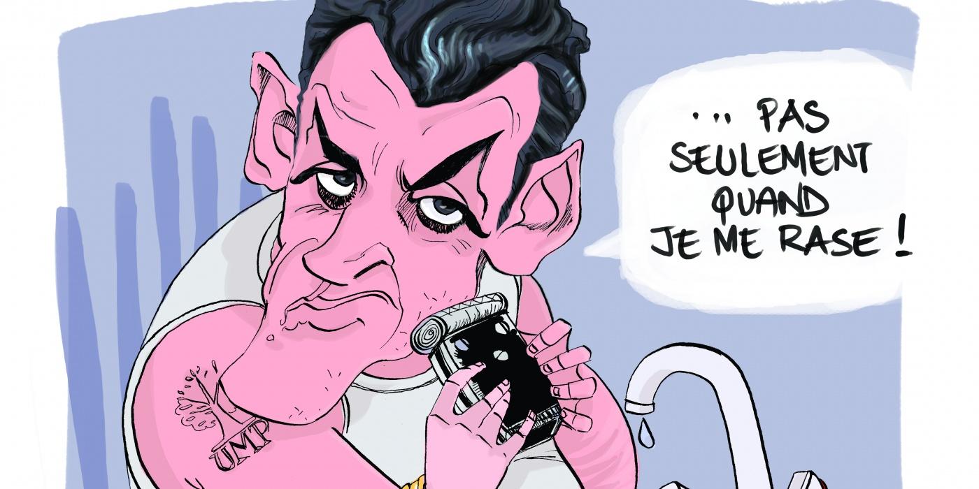 Sarkozygate © Bob Kanza