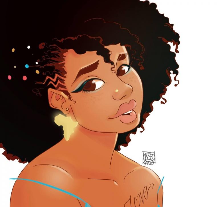 Babette Motuka, Curvy Afro Girl