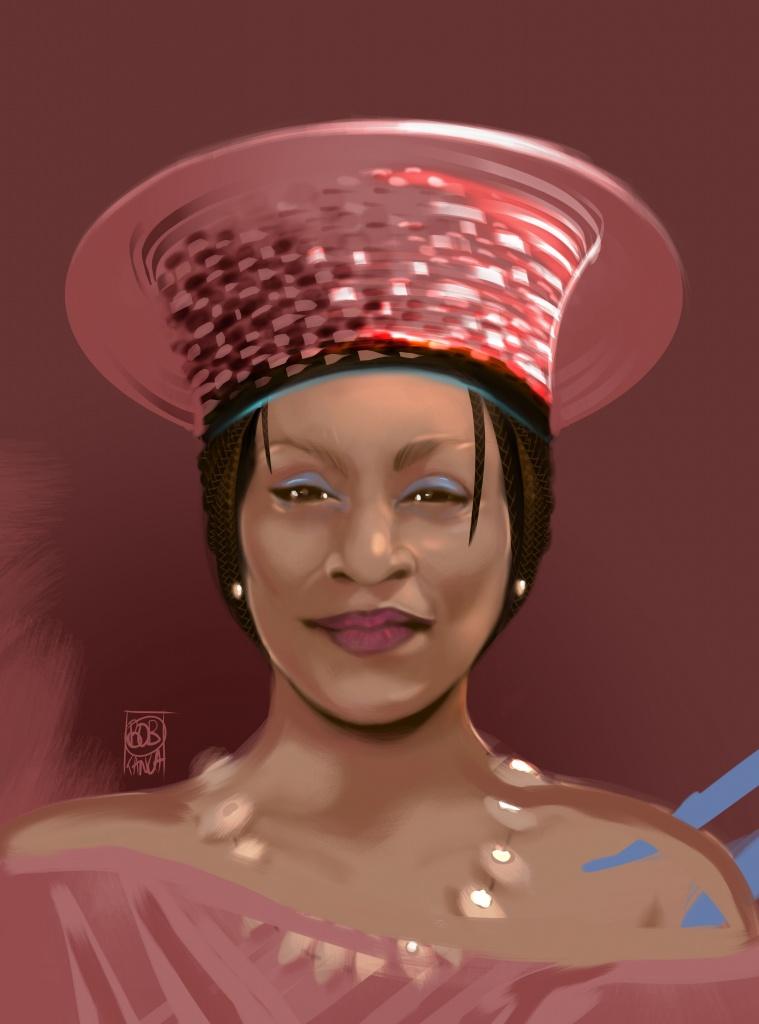 Portrait Reine Africaine