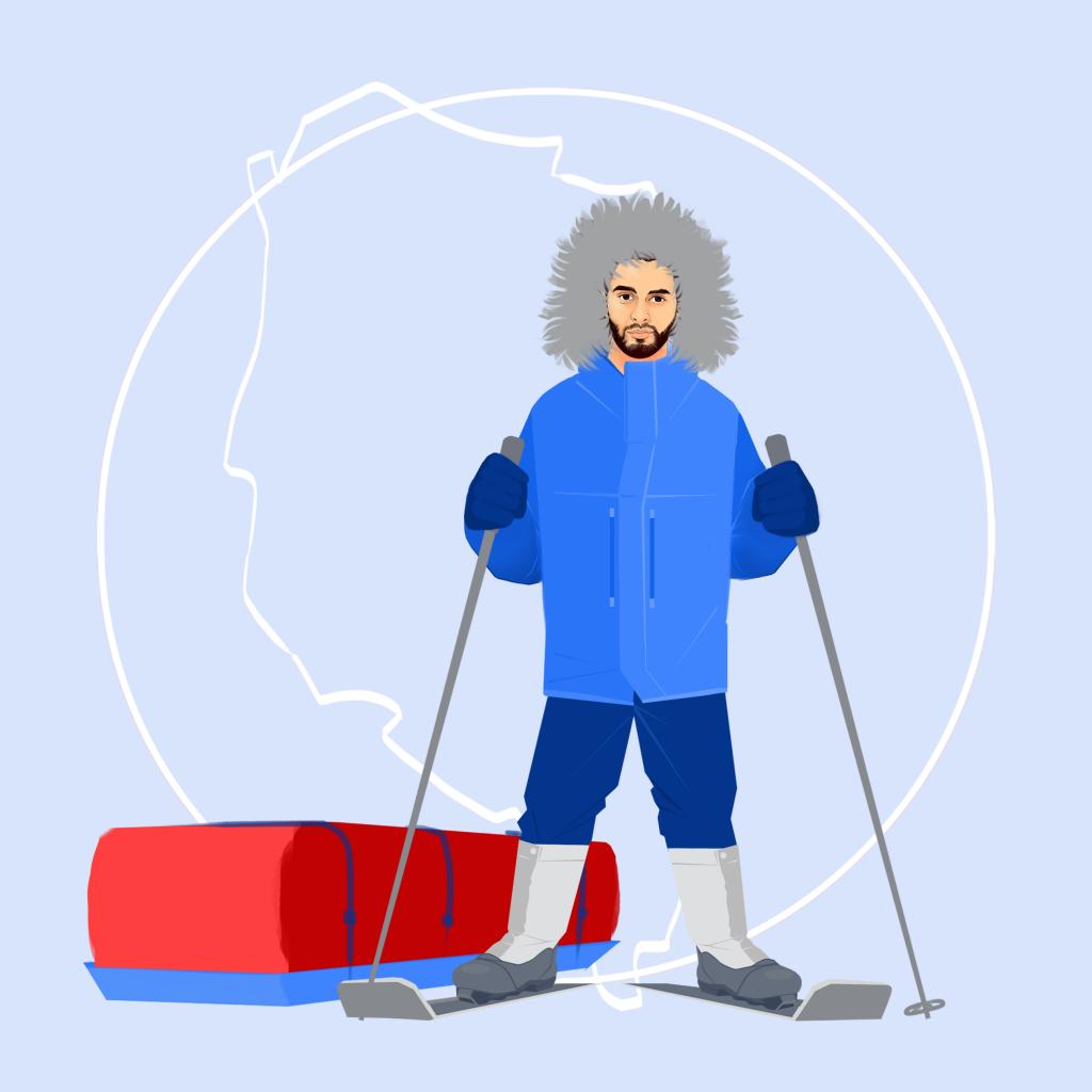 Logo explorateur grand froid © Bob Kanza