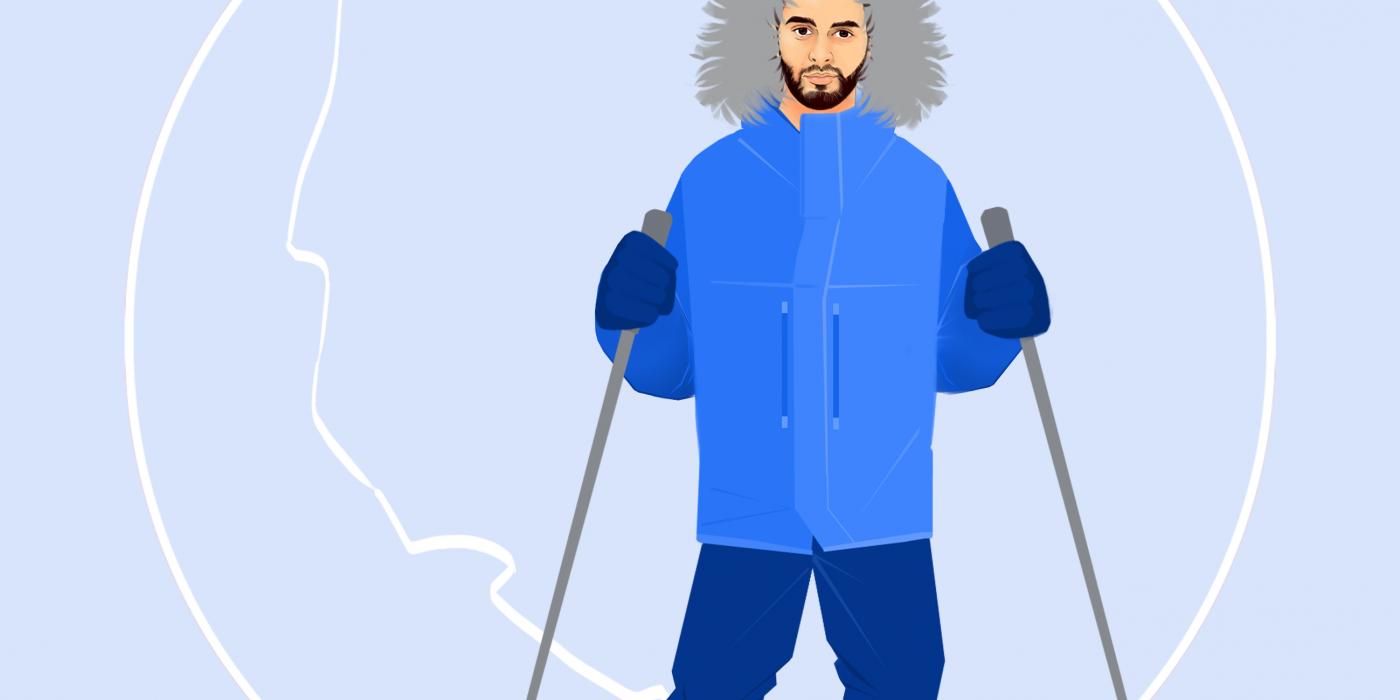 Logo explorateur grand froid