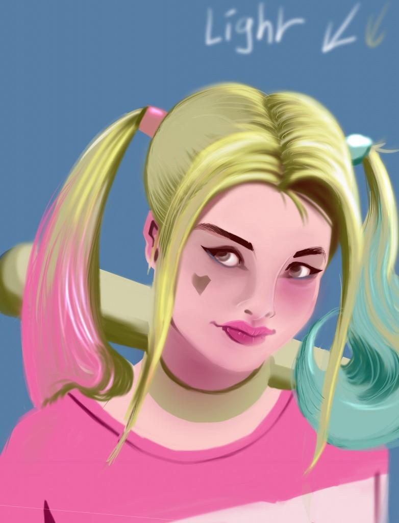 Illustration Harley Quinn
