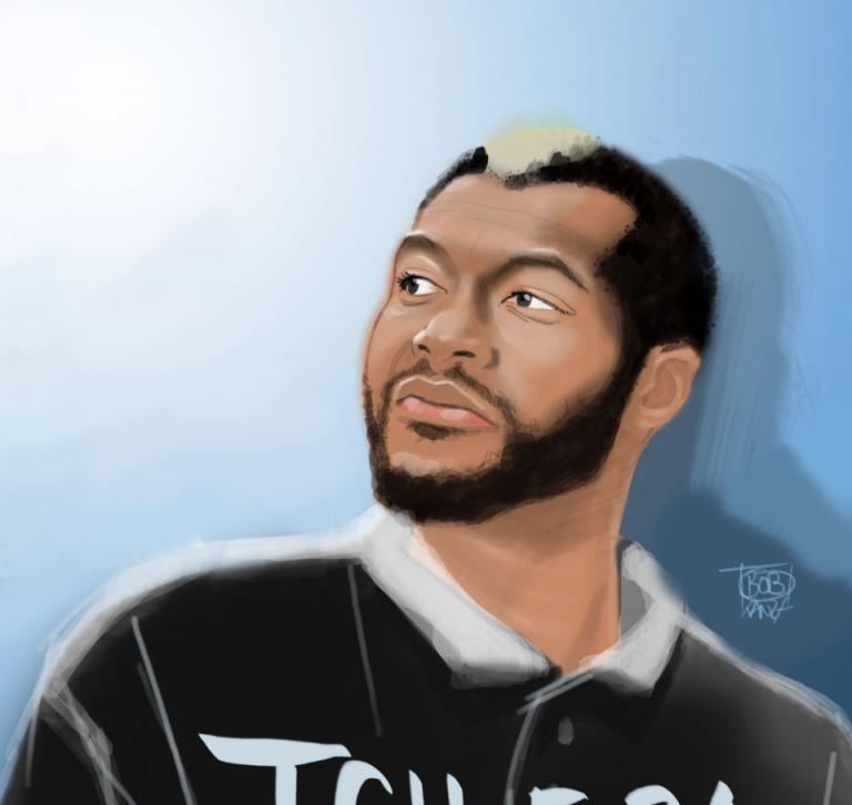 Djibrill Cissé A.K.A Tcheba -Olympique Marseille - Bob Kanza
