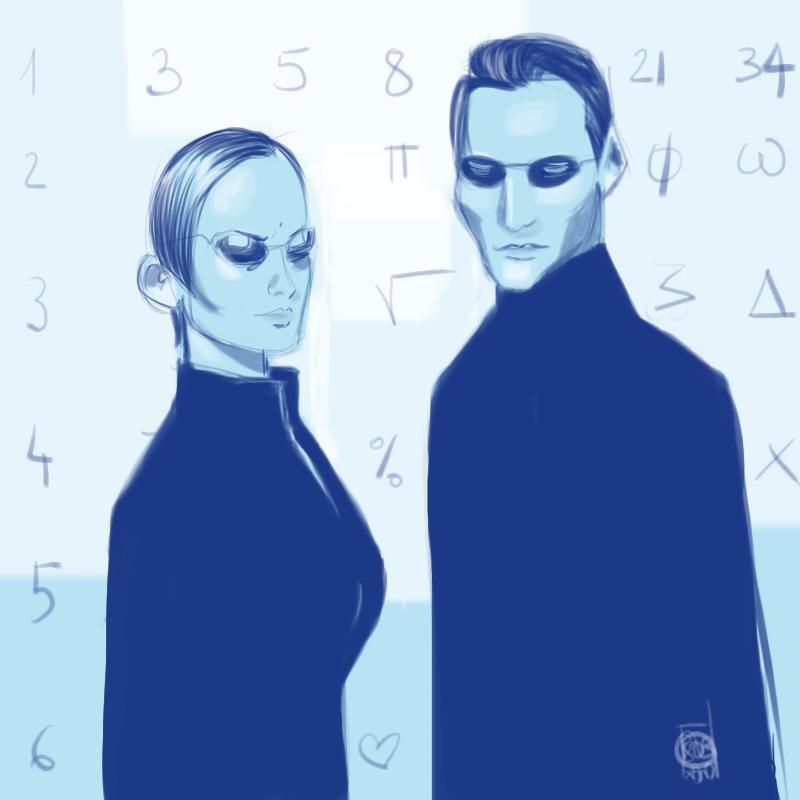 Neo & Trinity - Matrix @ Bob Kanza